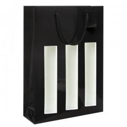 Sac noir 3B avec fenêtre